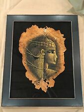 Hatshepsut Painting On Tobacco By Mohamed Fathy 1989