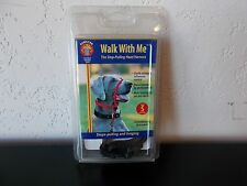 """Walk With Me The Stop Pulling Head Harness for Dogs Size Small 5/8"""" Brown"""