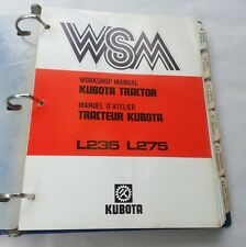 Kubota manual heavy equipment parts accessories ebay kubota l235 l275 tractor workshop service repair manual sciox Images