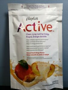 Plexus Active 15 Packets - Natural Peach Mango - New / Sealed! Exp 12/2021!