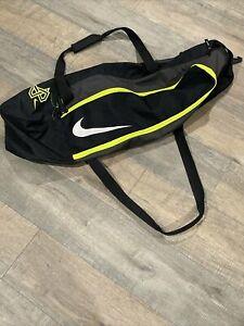 Nike MVP Edge Baseball Bat Bag Black/Green One Size