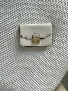 Accessorize White Plain Bag with Gold Chain Strap