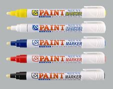 Universal Paint Marker Pens Permanent Waterproof Tyres Cars Metal Wood