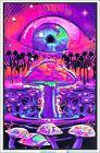 Mushrooms Blacklight Poster 23 x 35