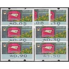 """BRD Bund ATM9 VS1 postfrisch** 5/8/10/20/30/90/150 Cent """"Briefkasten 2017"""" m.Nr"""