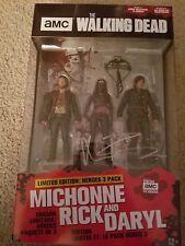 Walking Dead-Hero 3 pack- Michonne, Rick & Daryl (AUTOGRAPHED & Unopened)!