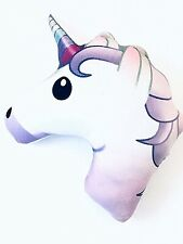 Emoji Expressions Unicorn Pillow Plush Bed Sofa Girl Holiday Gift 12""