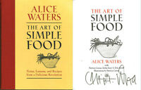 Alice Waters SIGNED AUTOGRAPHED The Art of Simple Food HC RARE 1st Ed 1st Print