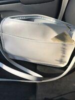 Partner's Mervins Genuine Leather White  Cross Body Vintage Bag