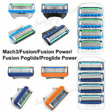 GILLETTE Mach3 FUSION Proglide POWER Replacement Razor Blades 4 / 8 / 16 Pack