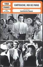 CARTOUCHE ROI DE PARIS - Pigaut,Carmet,Radot (Fiche Cinéma) 1950