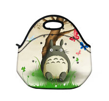 Totoro Insulated Neoprene Tote Lunch Bag Box Cool Thermal Handbag Food Holder