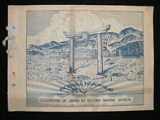 Pictorial Arrowhead Occupation of Japan By 2nd Marine