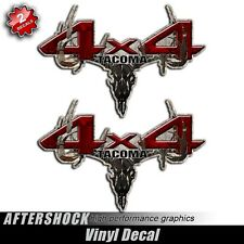 Tacoma 4x4 Camo Skull Hunting Decal - Camouflage Archery Truck Sticker