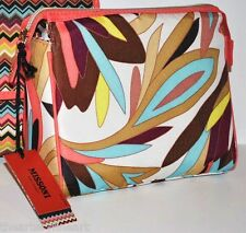 MISSONI x Target 'Colore Floral' Medium Purse Kit / Cosmetic Make-up Case *NWT*