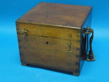 ANTIQUE P.J. KIPP & ZONEN MICROSCOPE INSTRUMENT BOX * DELFT