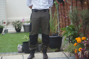 Milano Polycotton Waterproof  Long Outdoor Trousers Hunting, Shooting,Walking.