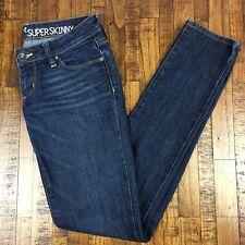 Bullhead Hermosa Jeans Super Skinny Stretch Denim Dark Womens Size 1R Regular