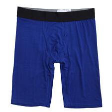 2-Pack Mens Big and Tall 9-inch Silky Soft Underwear Modal Boxer Briefs YU5280