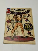 THE AMAZING SPIDER-MAN #47 - Grade 6.0 to 7.0 - Kraven the Hunter!