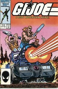 GI Joe ARAH (1982 Series) #51 September 1986 Marvel VF 8.0