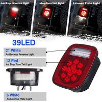 For Jeep Wrangler TJ CJ 76-06 Lamp 2PCS 39 LED Tail Light Brake Turn Signal ✌