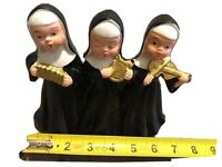 VTG Three Singing Nuns Wind up Made In Japan Working!