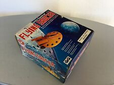 1978# vintage SK Toys FLYING SAUCER UFO Space Ship Battery Operated Model#NIB