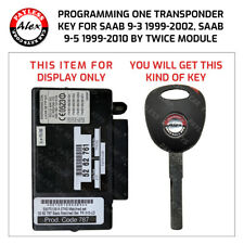 PROGRAMMING KEY FOR SAAB BY TWICE MODULE