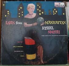 ETHEL SMITH LATIN FROM MANHATTAN US PRESS LP DECCA 1958