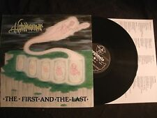 WITCHHAMMER - The First And The Last - 1988 Brasil Vinyl 12'' Lp./ Exc./ Metal