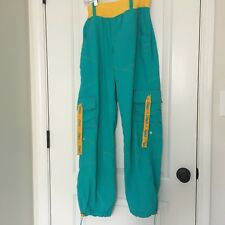 ZUMBA Wear Adult Active WorkOut Pants Sz L MultiColor Clothes