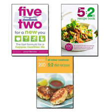 The 5:2 Diet Recipes Collection 3 Books Set(Hamlyn All Colour Cookbook,Five Two