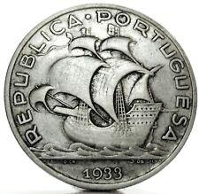 PORTUGAL-Portogallo (Republic) 5 Escudos 1933