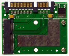 "M-ware® Mini PCIe 52pin mSata SSD zu 6,4cm (2,5"") Notebook SATA3 Festplatte HDD"