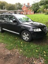 VOLKSWAGEN TOUAREG TDI AUTO 2.5L 2004 BREAKING FOR PARTS