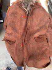 Aston lambskin shearling jacket XL