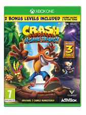 Crash Bandicoot N.sane Trilogy Xbox One Includes 3 Games