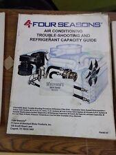 4 Four Seasons Air Conditioning Repair Trouble Shooting Refrigerant Capacity