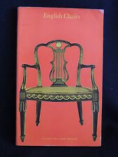 ENGLISH CHAIRS-VICTORIA AND ALBERT MUSEUM-FROM 1500 TO 1901-SC/1970