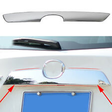 Chrome Auto Rear Trunk Lid molding Cover Trim Fit For Mazda CX-5 CX5 2012-2016