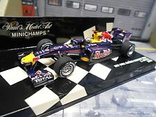 F1 RED BULL Renault RB6 RB 6 #5 Vettel Weltmeister World Champ Minichamps 1:43