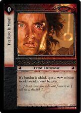 LoTR TCG Mount Doom The Ring Is Mine! FOIL 10U97