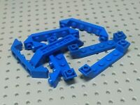 Lego Slope Inverted Double 6x1 with Recessed Center [52501] Blue x8