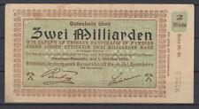 Hamborn-Neumühl - Steinkohlenbergwerk Trade Union - 2 Billions Mark
