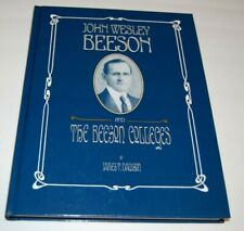 The Beeson Colleges Book- Meridian Mississippi Female / Male College 1st EDITION