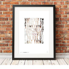 DWIGHT SCHRUTE idiot quote ❤ The Office US ❤ poster art LIMITED EDITION PRINT #9
