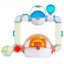 Habitrail OVO Suite Hamster Play Home Habitat Cage w/ Tubes, Feeding Accessories