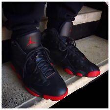 Nike Jordan 13 Gym Rojo Bred Air dirtybred UK10 US11 EU45 rara Qs como Quai 54 Q54