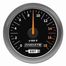 INNOVATE MTX-A: analogico temperatura dei gas di scarico Gauge Kit Con Quadrante Nero #3865